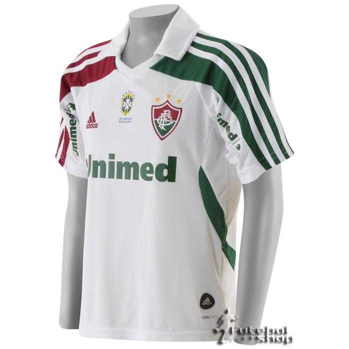 6db0c2ee9a ... Camisa Adidas Fluminense II 2011 Infantil - V89042 ...