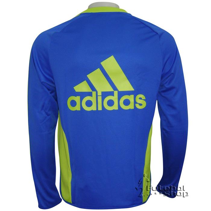 Blusa Moleton Adidas Palmeiras Treino - P79263