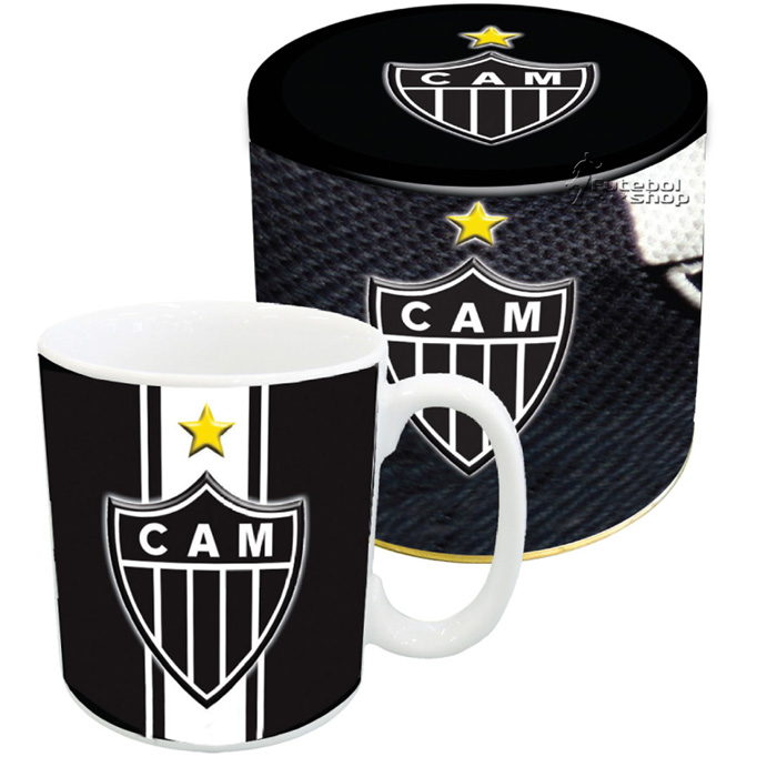 Caneca Porcelana na Lata Atlético Mineiro - 220470