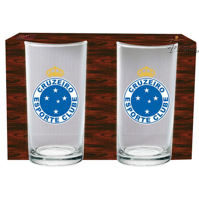 Conjunto 2 Copos Long Drink Cruzeiro