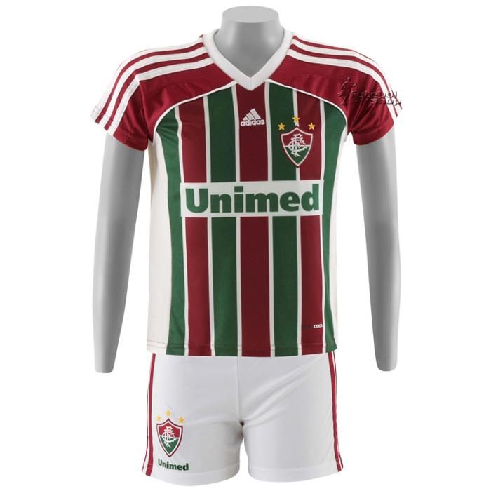Kit Infantil Adidas Fluminense I - V89103