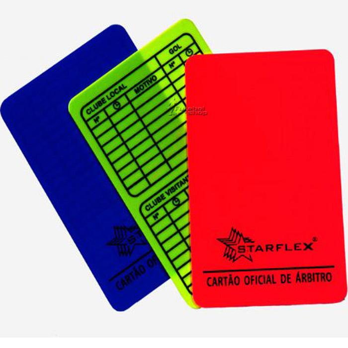 Cartão StarFlex Oficial para Arbitro Futsal / Society