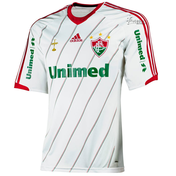 Camisa Adidas Fluminense II 2012 Infantil - X36585