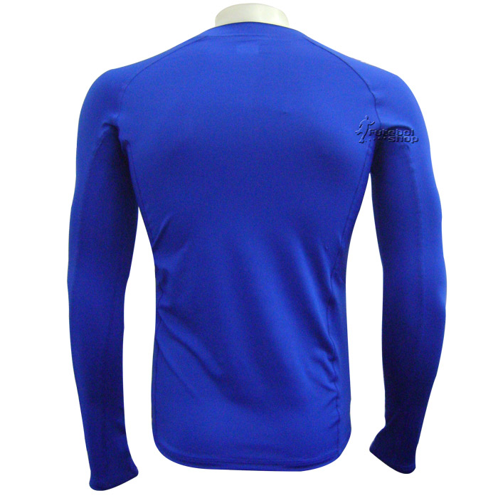 Camisa Térmica Poker Manga Longa - Azul - 04384