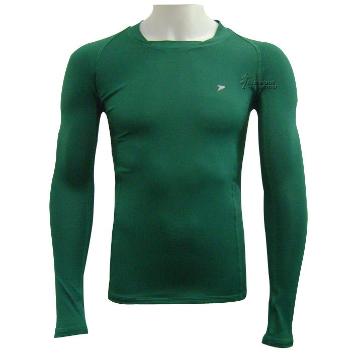 Camisa Térmica Poker Manga Longa - Verde - 04384 321ceb8022bc4
