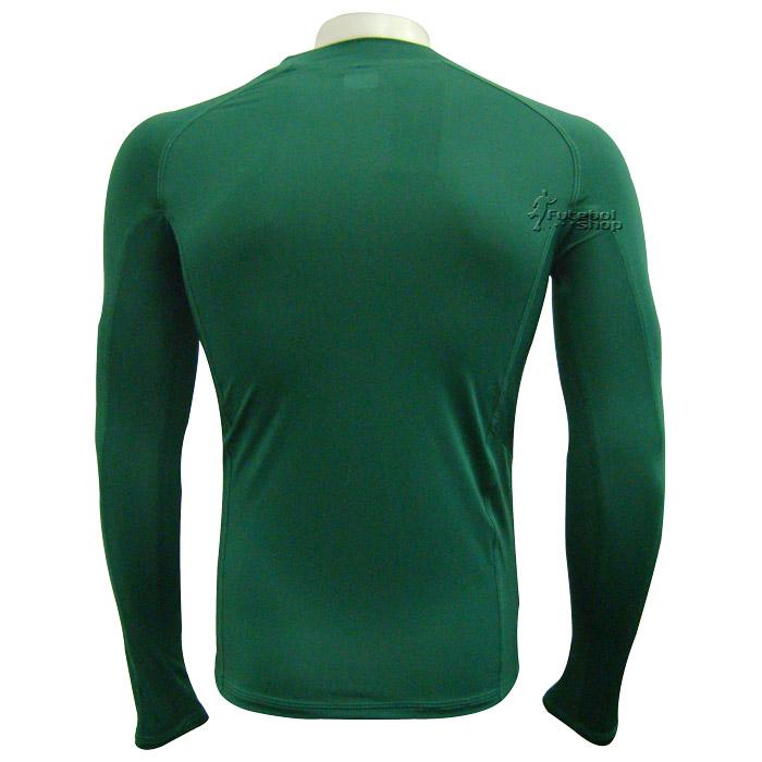 bf754137e9 Camisa Térmica Poker Manga Longa - Verde - 04384