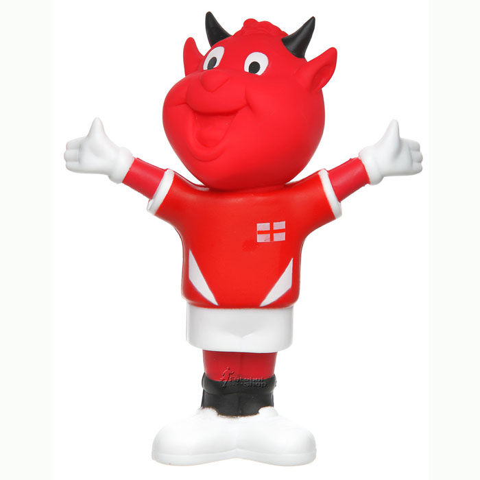 Mascote do Manchester United The Red Devils