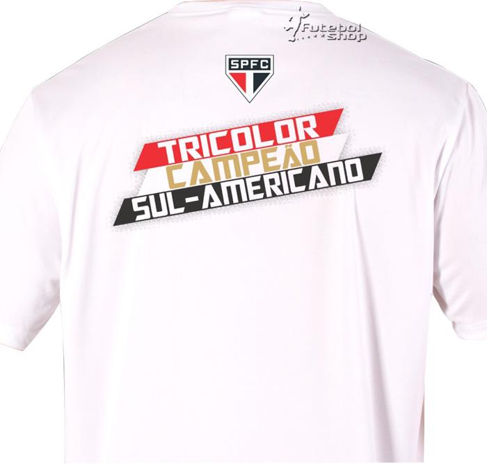 Camisa São Paulo Campeao Sulamericano 2012