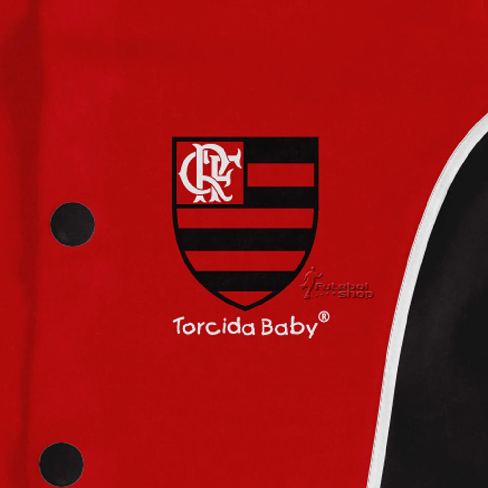 Macacão Longo Bebê Torcida Baby Flamengo - 006A