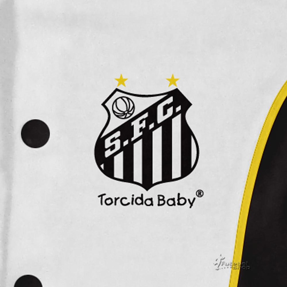 Macacão Longo Bebê Torcida Baby Santos - 006A