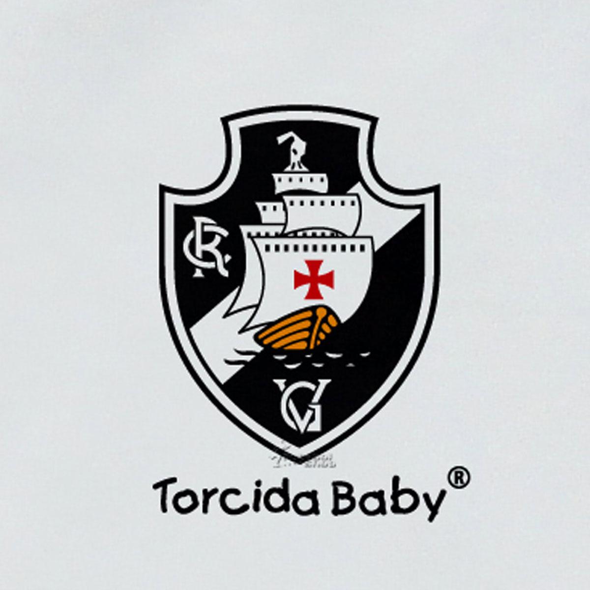 Macacão Longo de Bebê do Vasco da Gama - 025