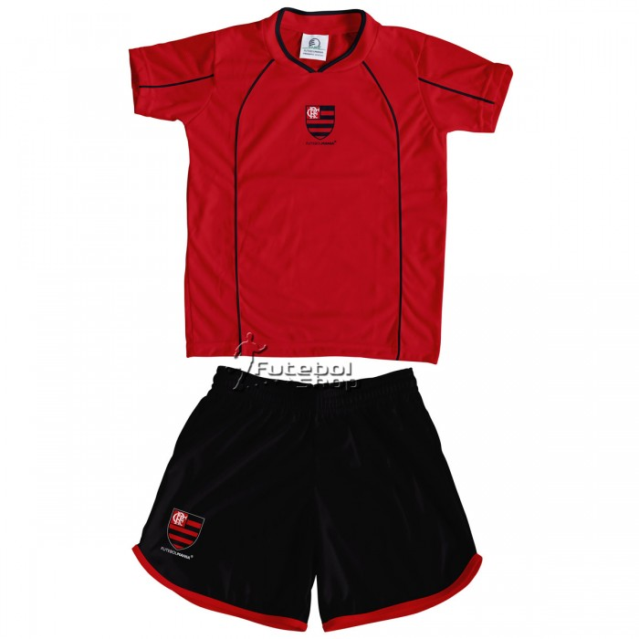 Conjunto Uniforme Infantil do Flamengo - 253E
