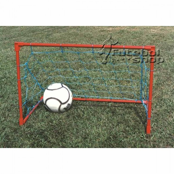 Kit Mini Soccer Gol Caixão Master Rede