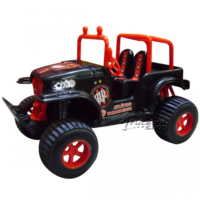 Carrinho Jeep de Fricção do Atlético Paranaense - Rabaker  Draco