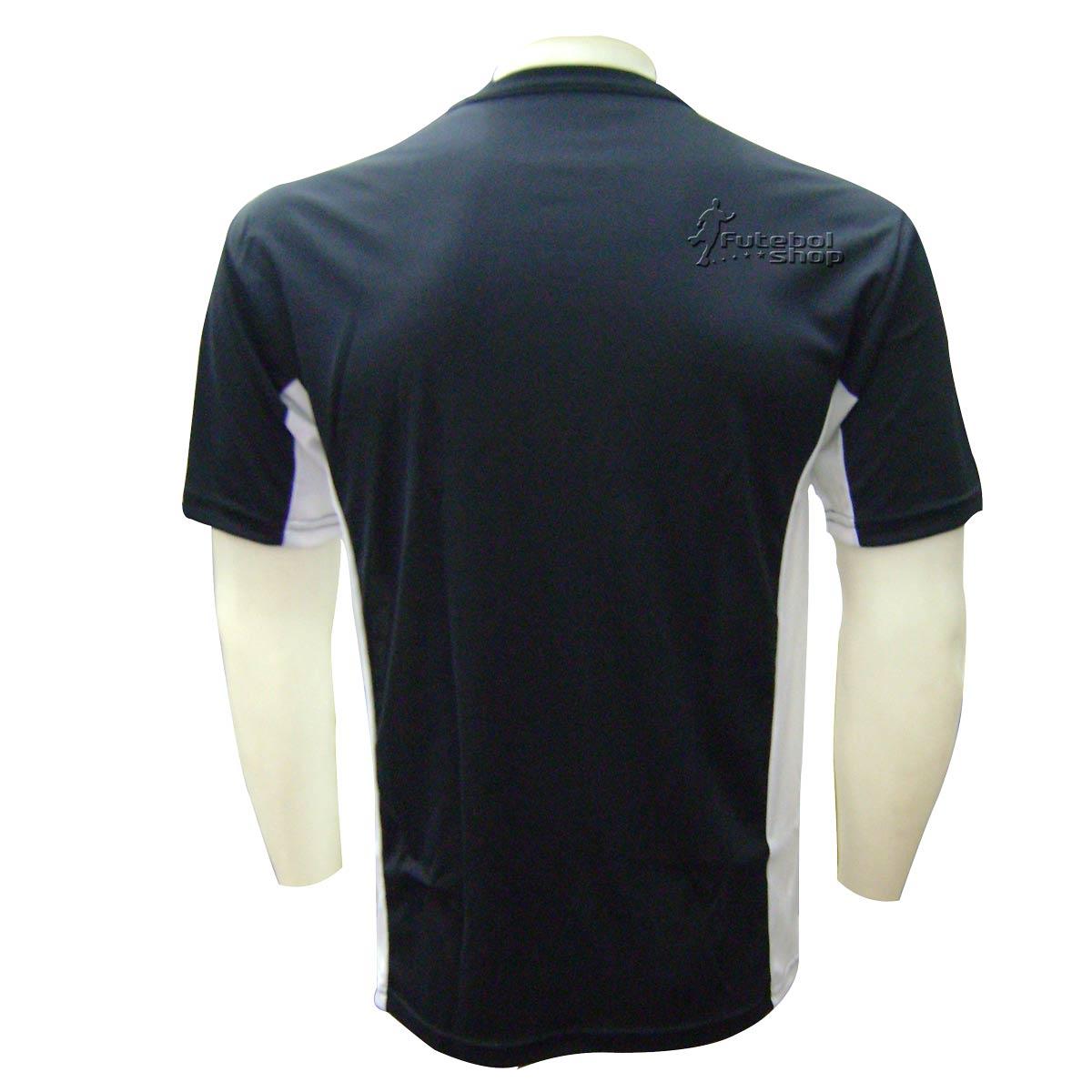 Camisa de Arbitro Placar Amazonas Preta - CP6422