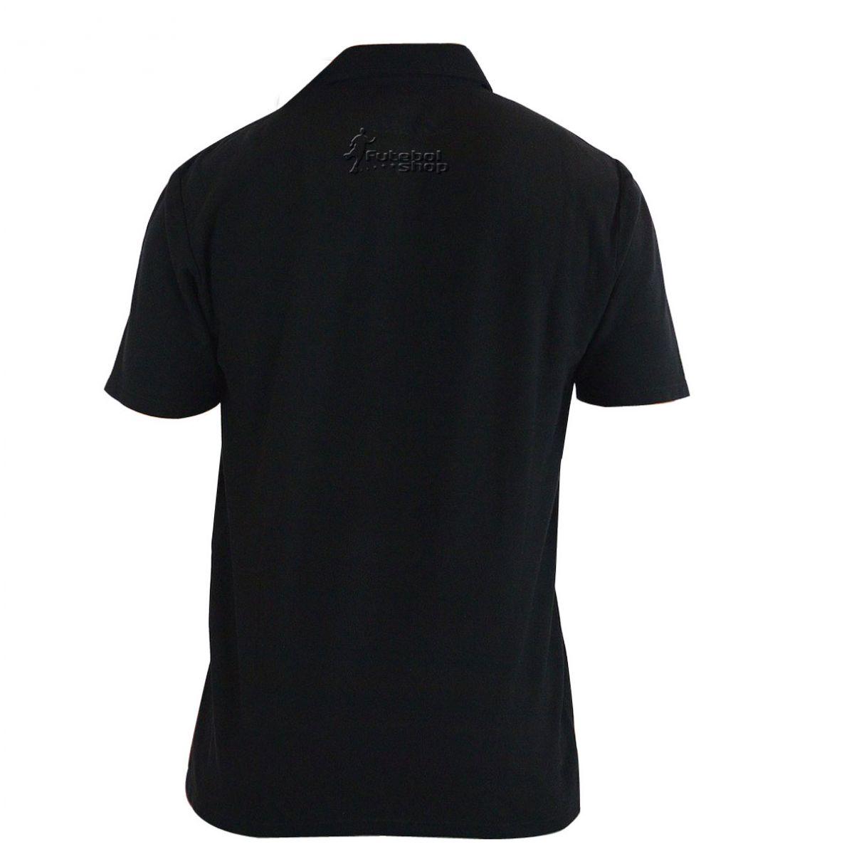 Camisa Polo São Paulo F.C. Preta - 362474