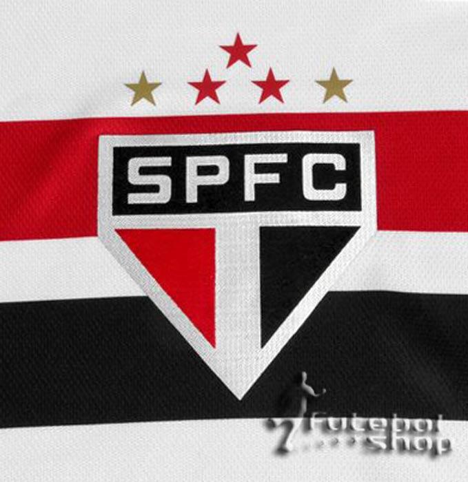 Camisa São Paulo FC 1 OF 14 S/N S/Patrocinio - 305537