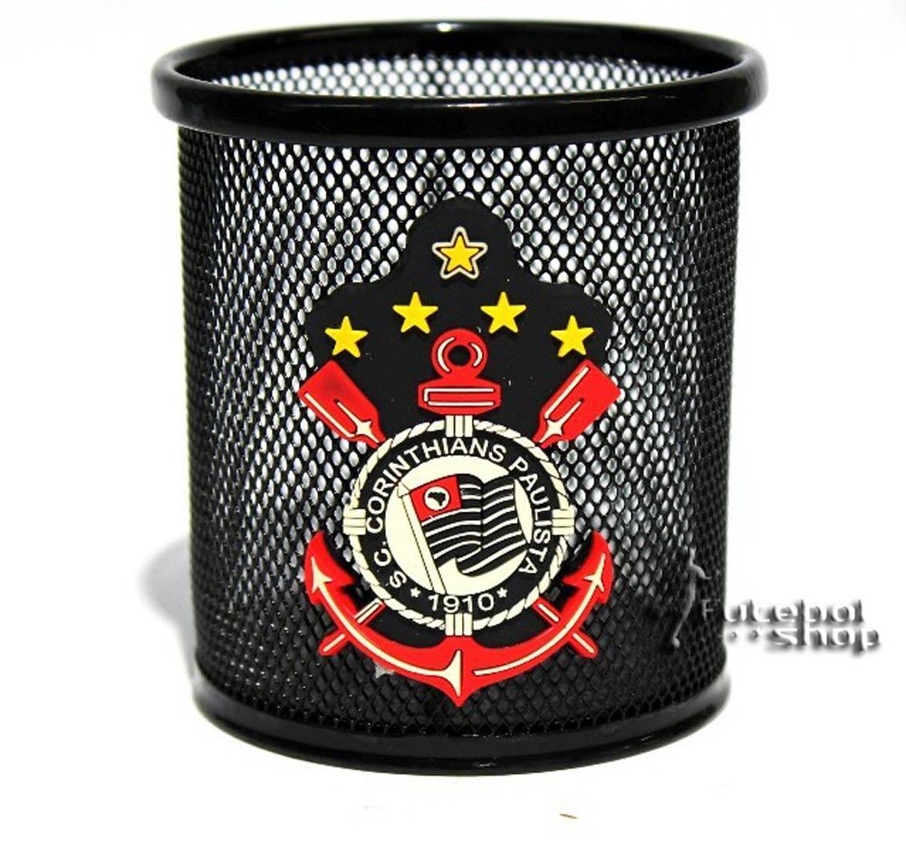 Porta Canetas de Metal do Corinthians