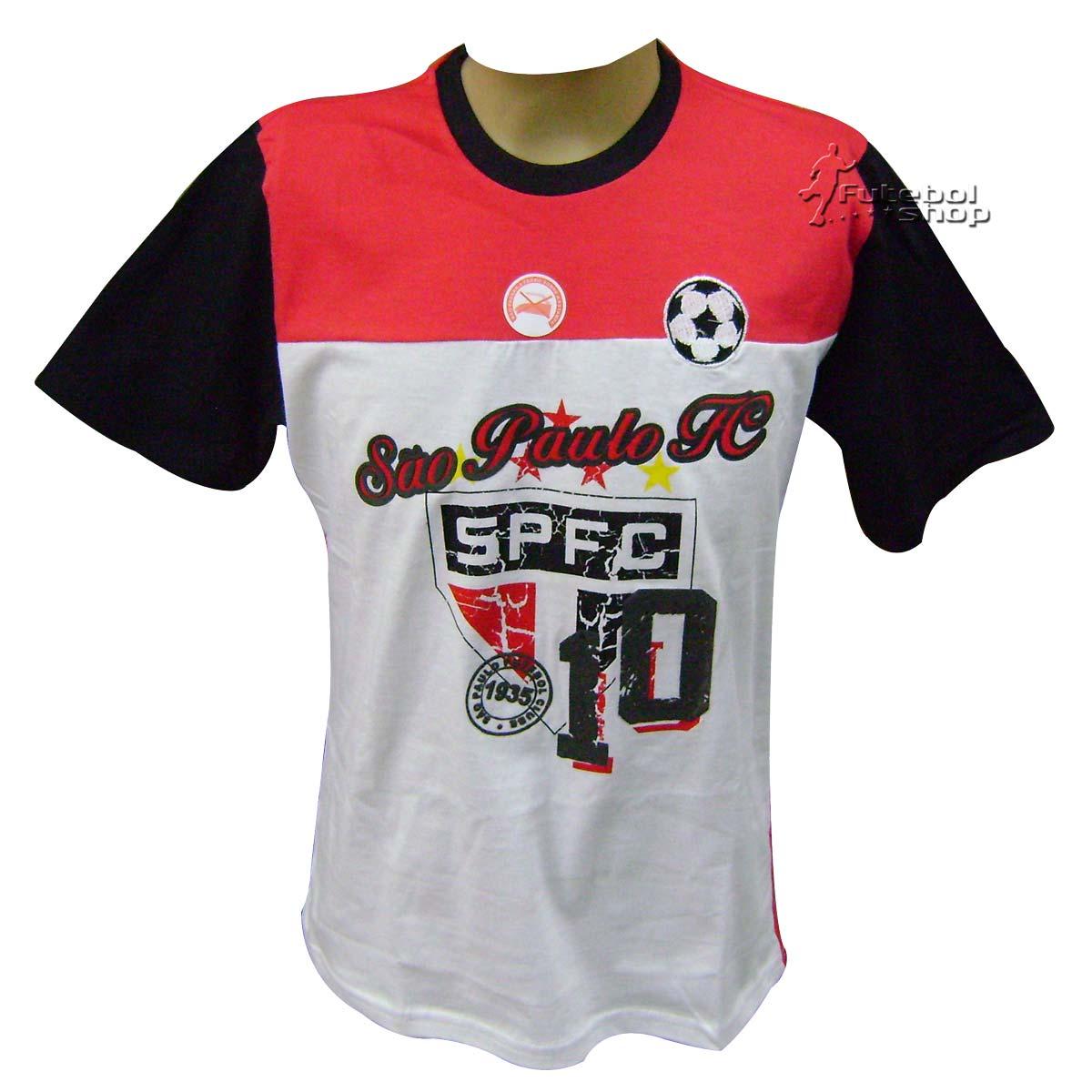 Camiseta Infantil do São Paulo modelo Set