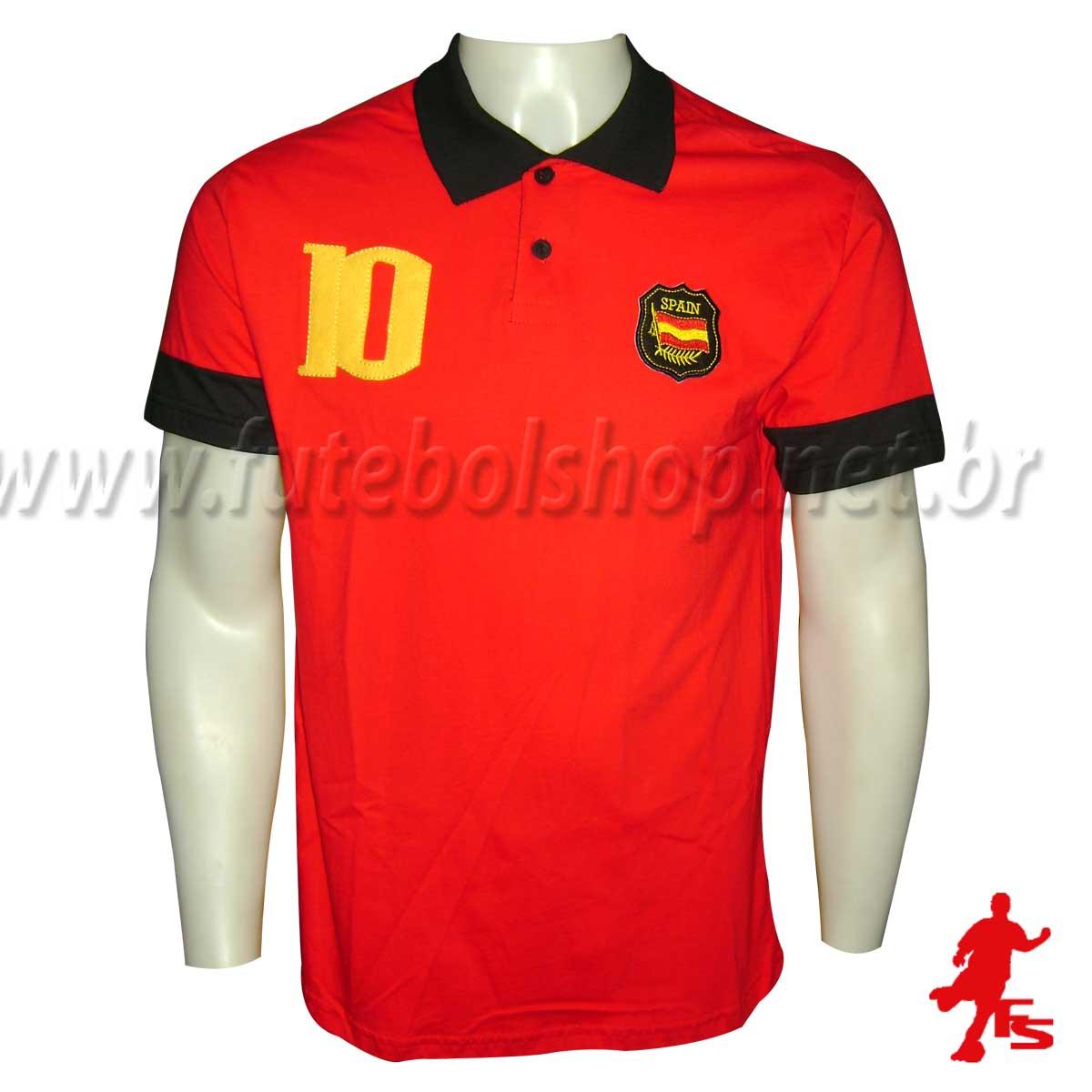 Camisa Polo Espanha - 60391