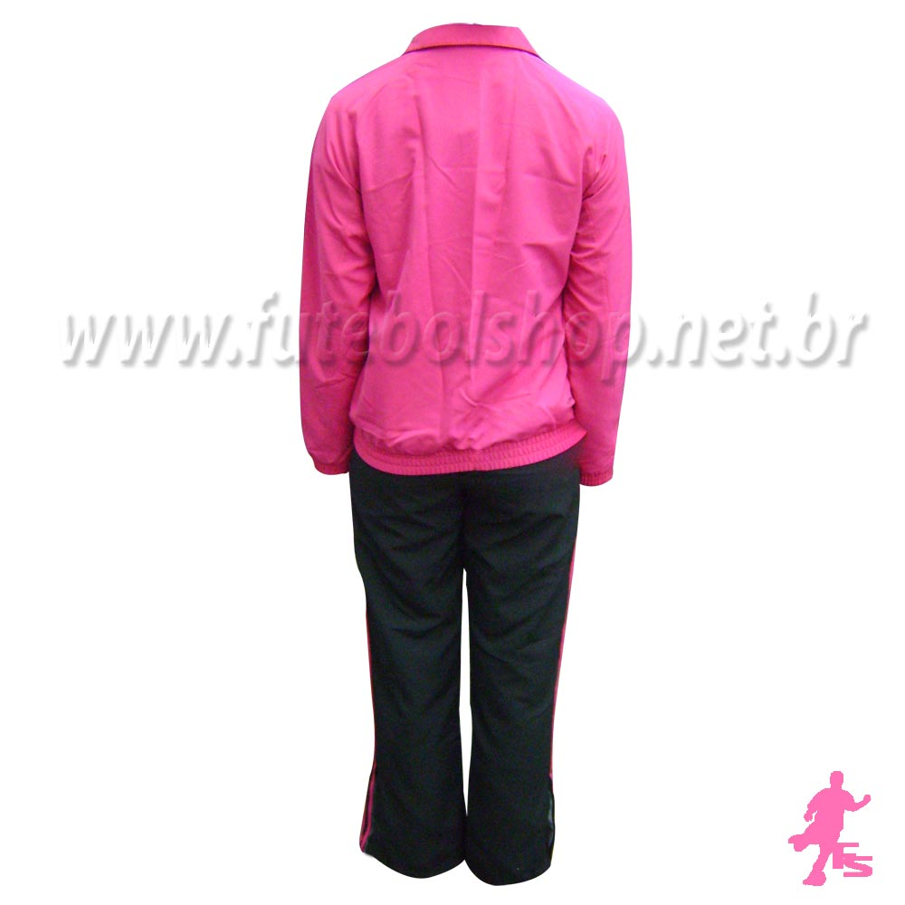 Agasalho Adidas Feminino 3S ESS Woven Infantil - P46388