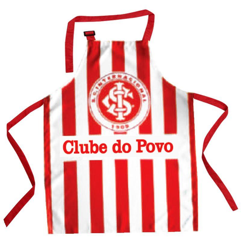 Avental do Internacional Listrado Clube do Povo