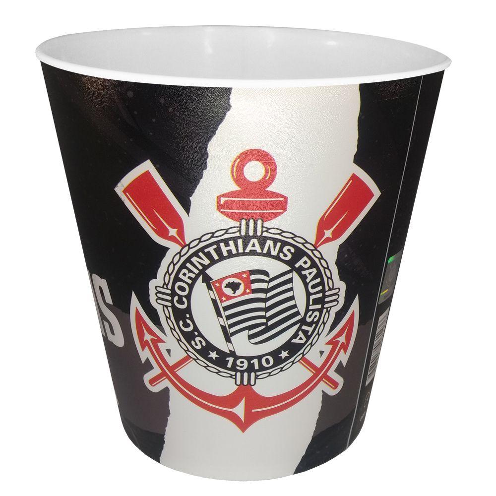 Balde para pipoca Corinthians
