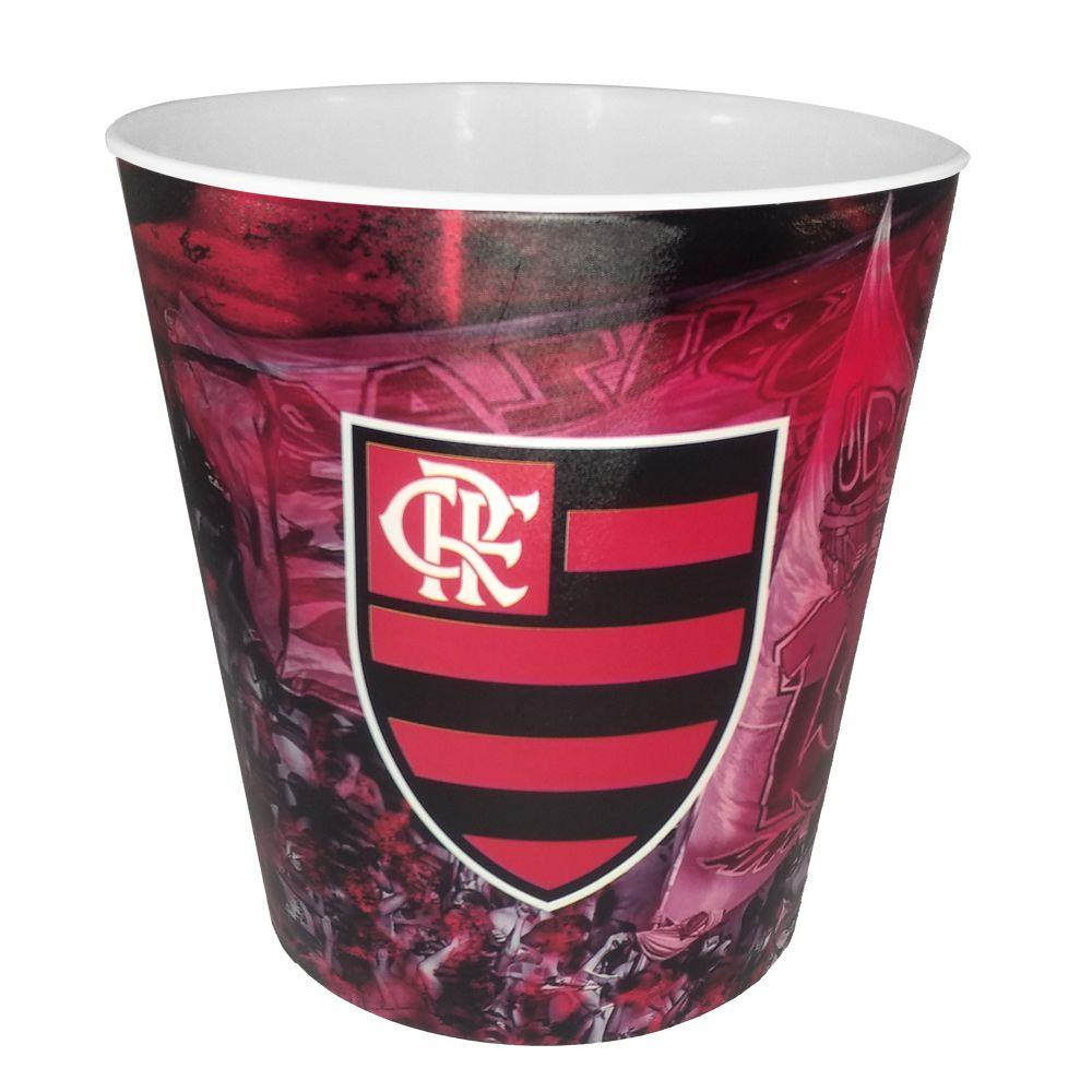 Balde para Pipoca do Flamengo