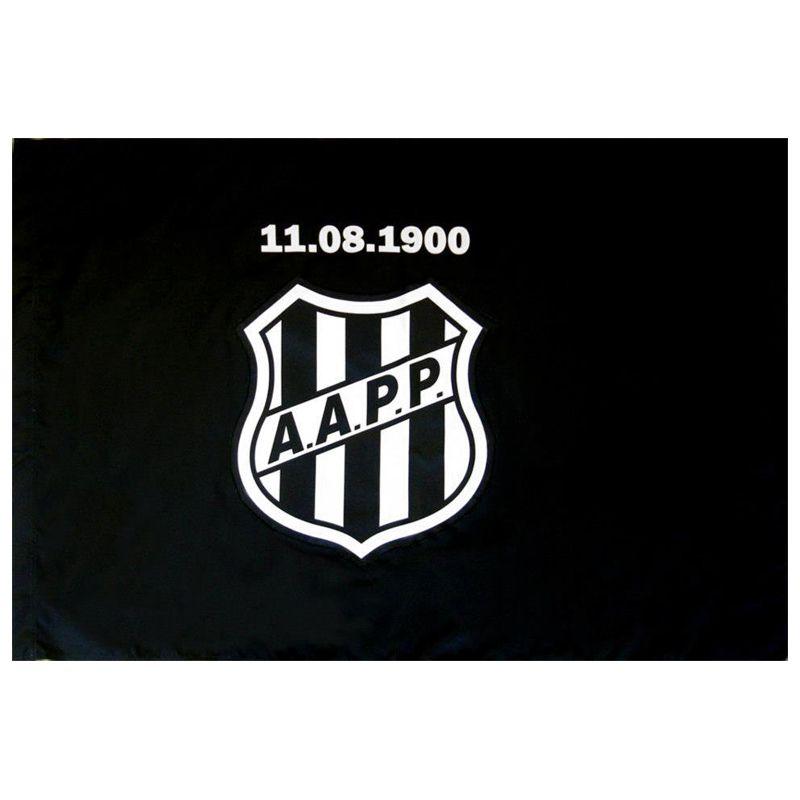 Bandeira da Ponte Preta Mitraud Oficial 64 x 45 cm