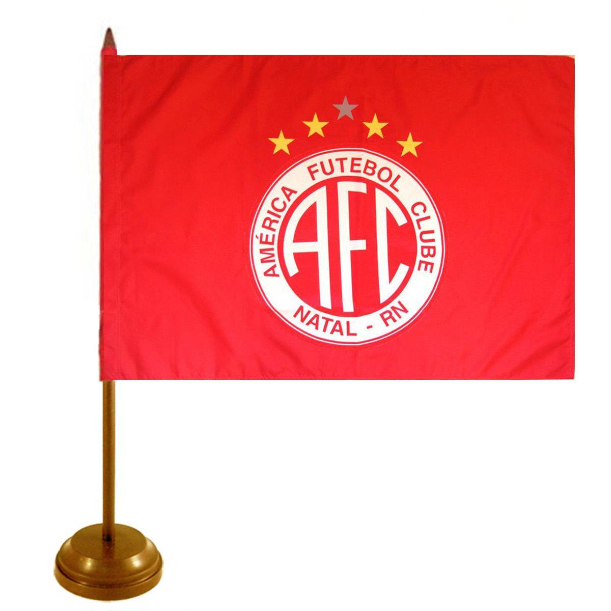 Bandeira de Mesa América F.C - Natal