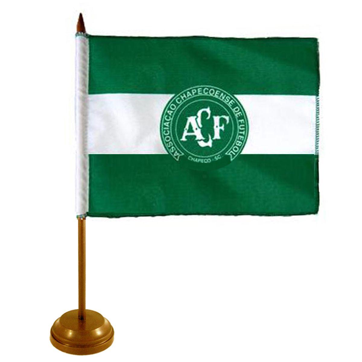 Bandeira de Mesa Chapecoense