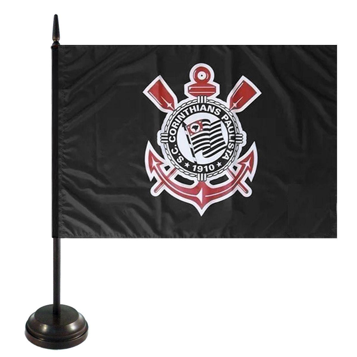 Bandeira de Mesa do Corinthians