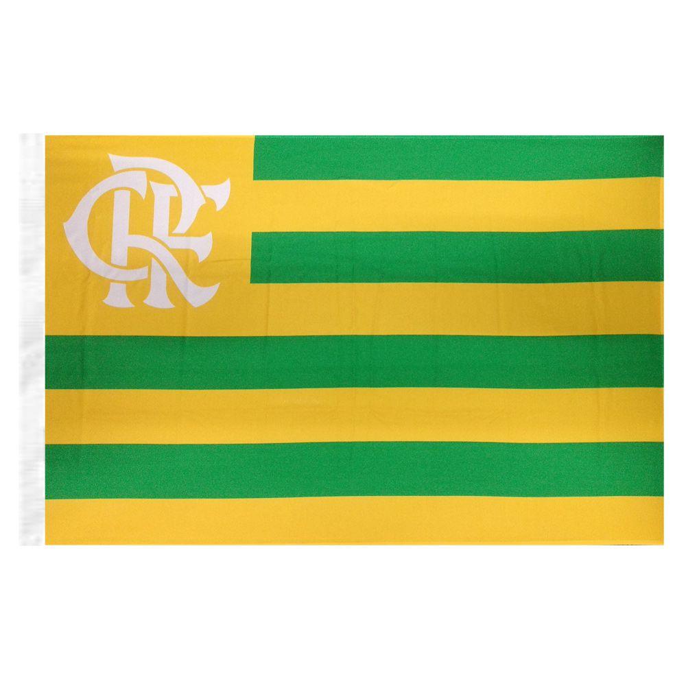 Bandeira do Flamengo + Brasil Listrada Sublimada 128 x 90