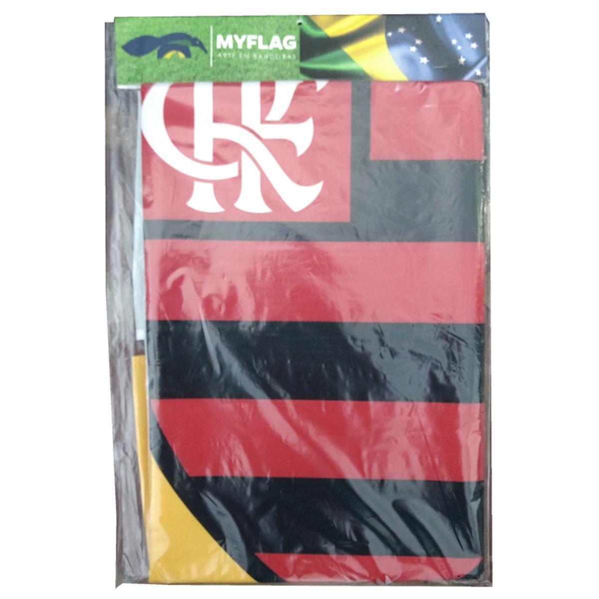 Bandeira do Flamengo + Brasil Sublimada 128 x 90
