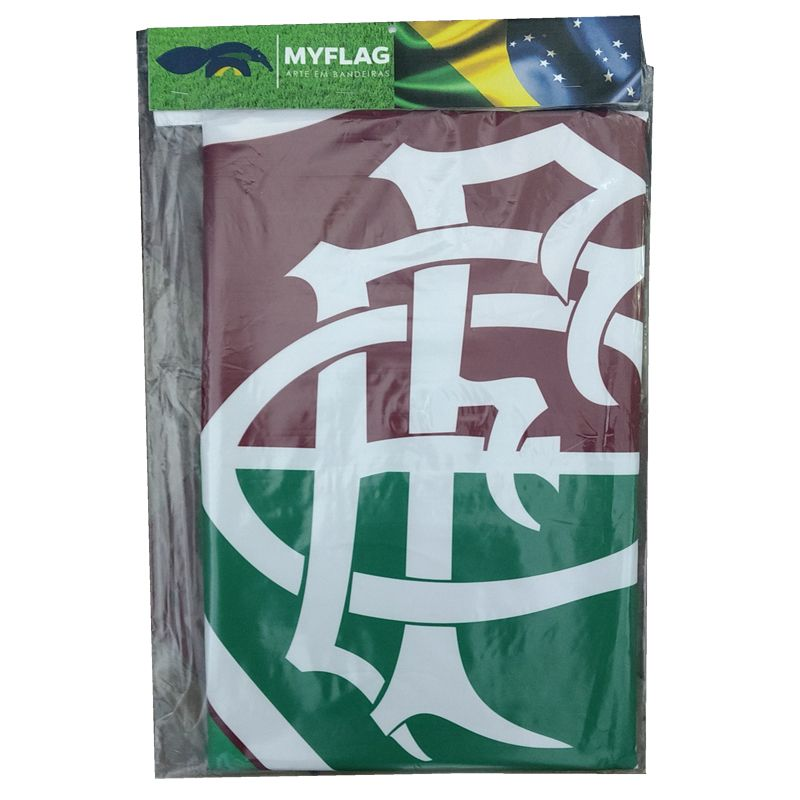 Bandeira do Fluminense + Brasil Sublimada 128 x 90