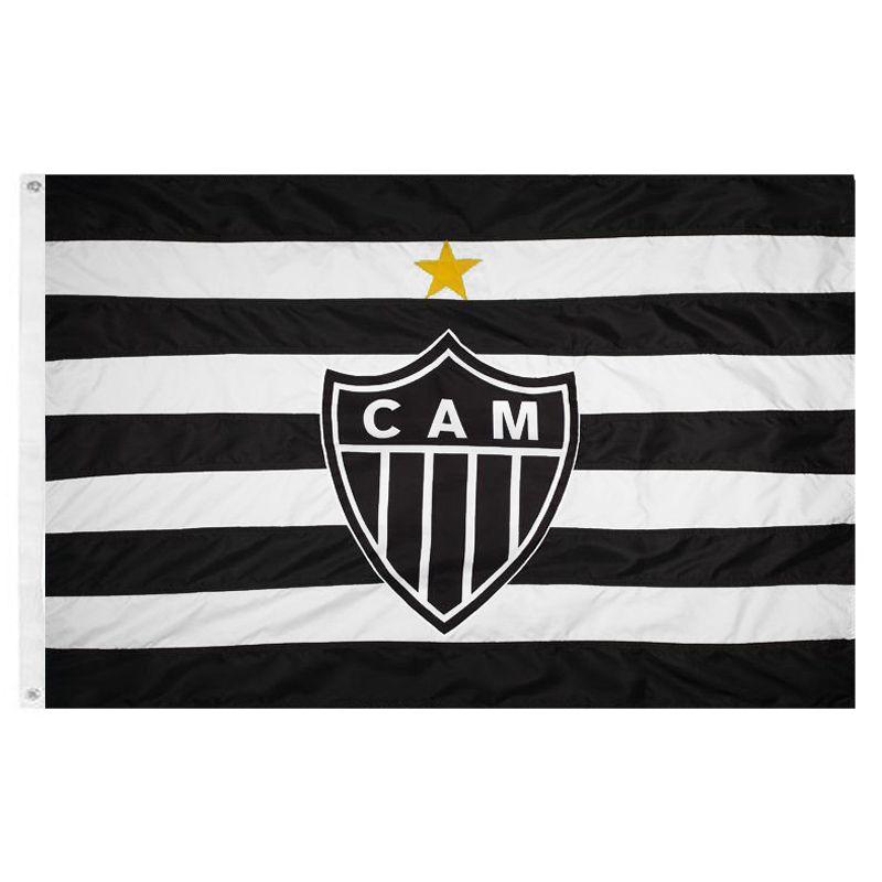 Bandeira Oficial do Atlético Mineiro 161 x 113 cm - 2 1/2 pano
