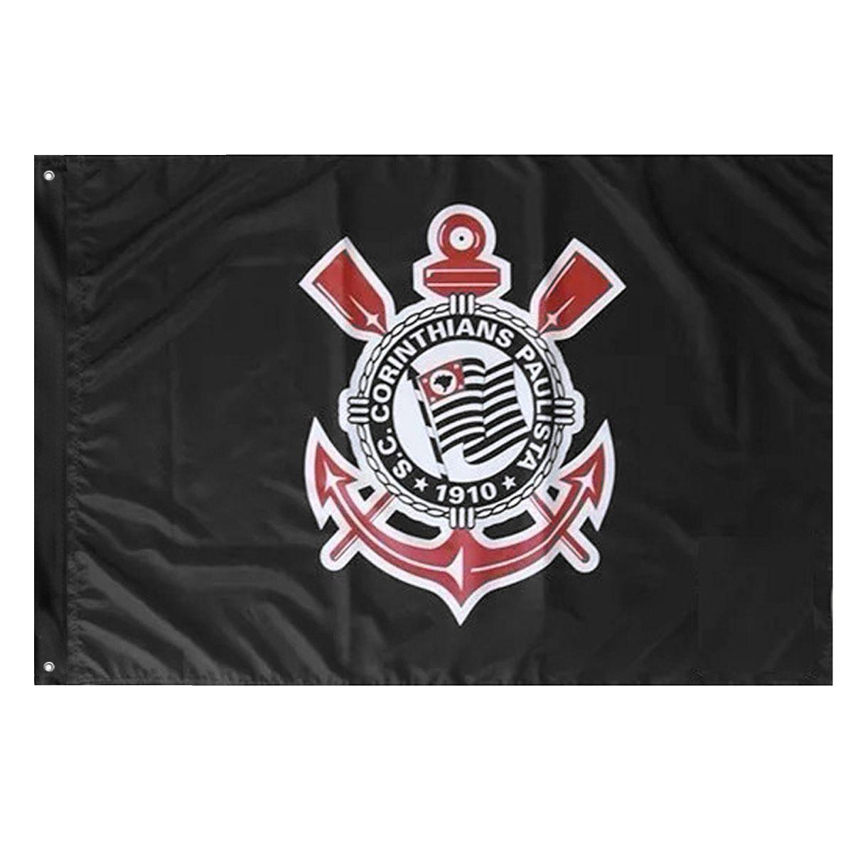 Bandeira Oficial do Corinthians 128 x 90 cm