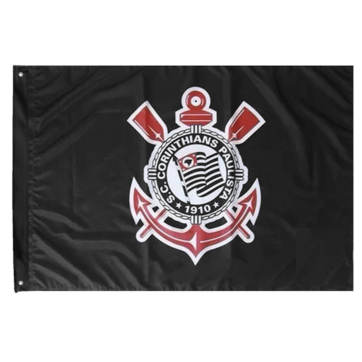 Bandeira Oficial do Corinthians 64 x 45 cm