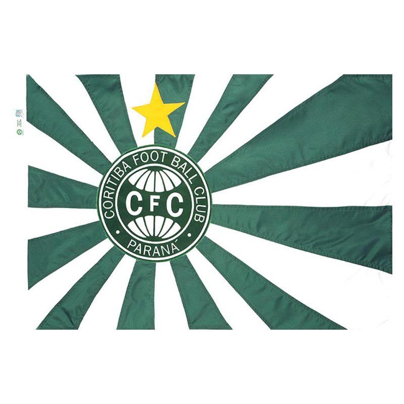 Bandeira Oficial do Coritiba 64 x 45 cm - 1 pano