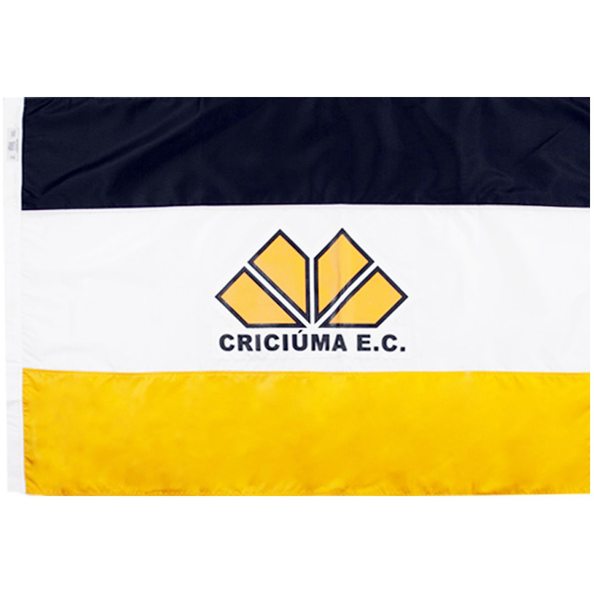 Bandeira Oficial do Criciúma 64 x 45 cm