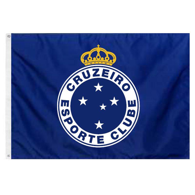 Bandeira Oficial do Cruzeiro 128 x 90 cm -  2 Panos