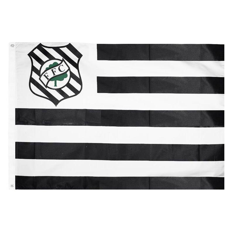Bandeira Oficial do Figueirense 128 x 90 cm -  2 Panos