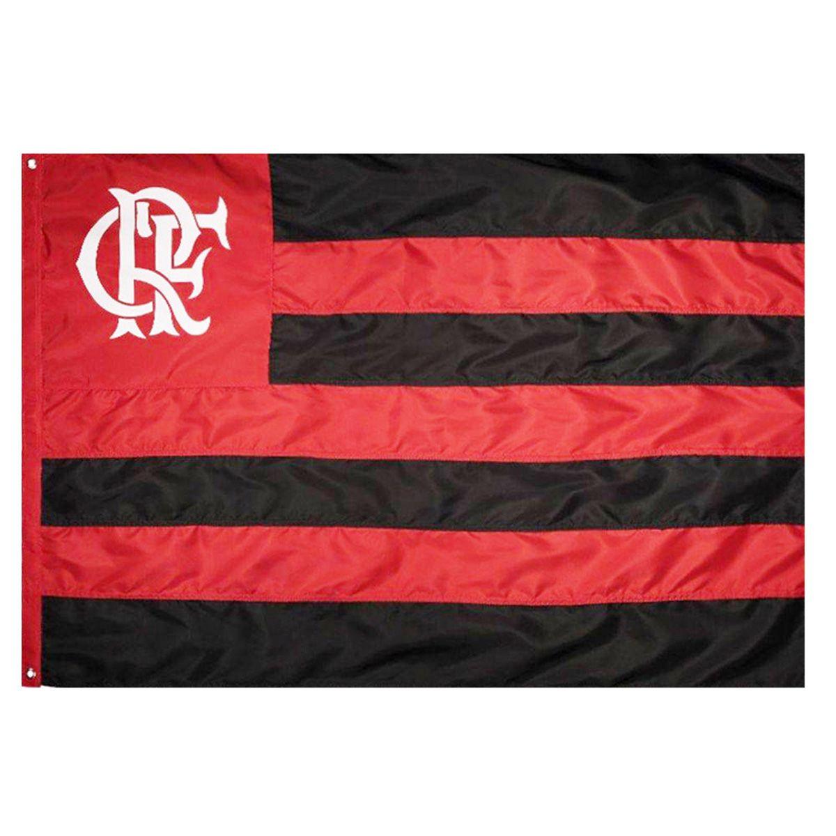 Bandeira Oficial do Flamengo 64 x 45 cm - 1 pano
