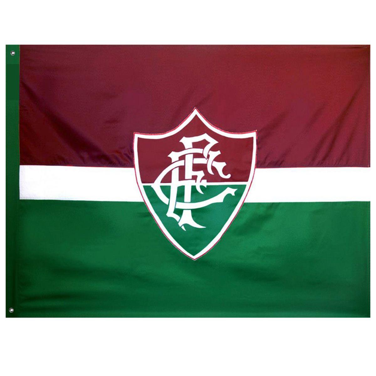 Bandeira Oficial do Fluminense 128 x 90 cm - 2 panos