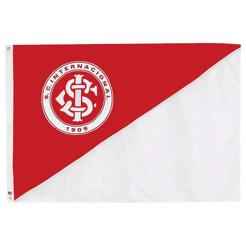 Bandeira Oficial do Internacional 161 x 113 cm - 2 1/2 pano