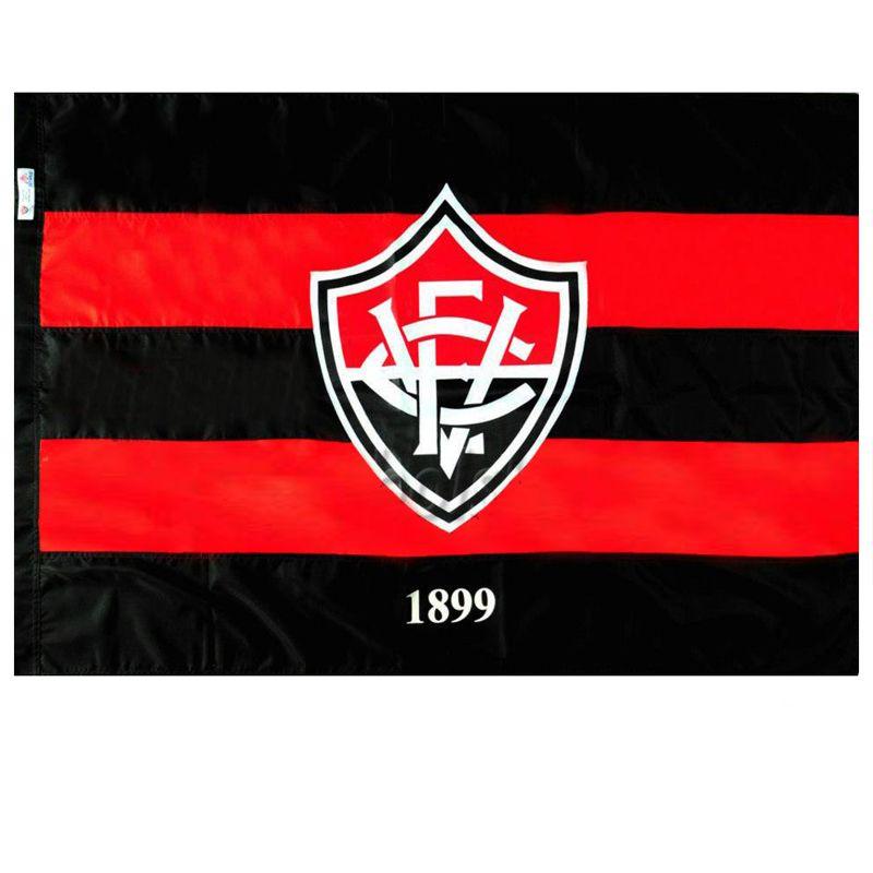 Bandeira Oficial do Vitória Mitraud 96 x 68 cm - 1,5 pano