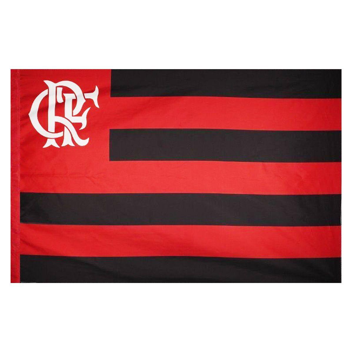 Bandeira Torcedor do Flamengo 128 x 90 cm - 2 Panos