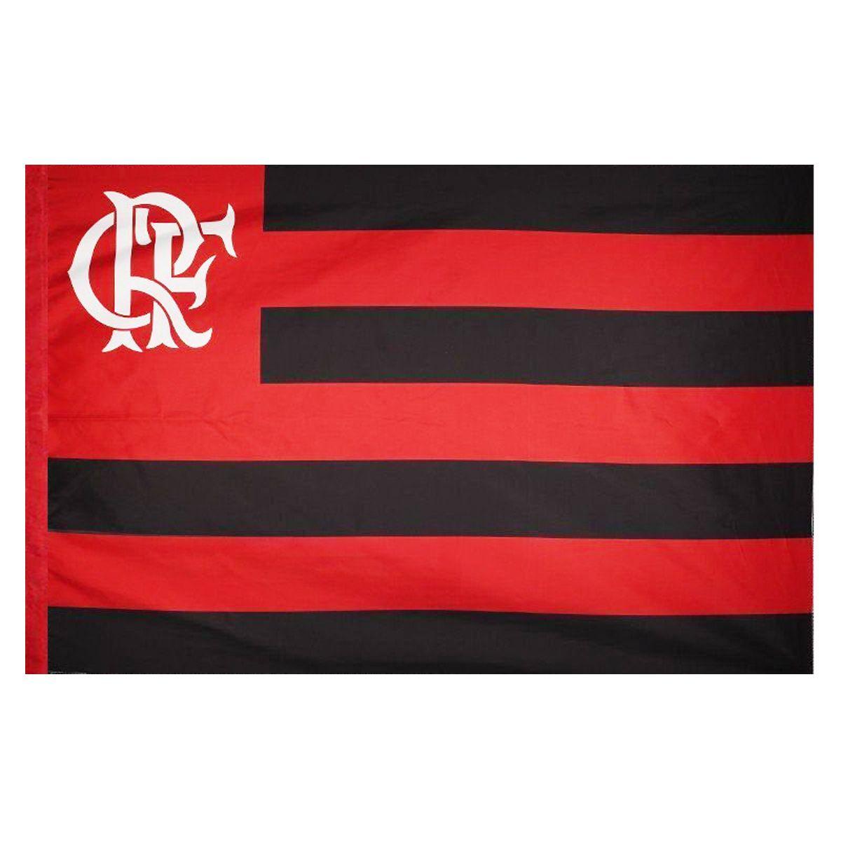 Bandeira Torcedor do Flamengo 96 x 68 cm - 1 1/2 pano