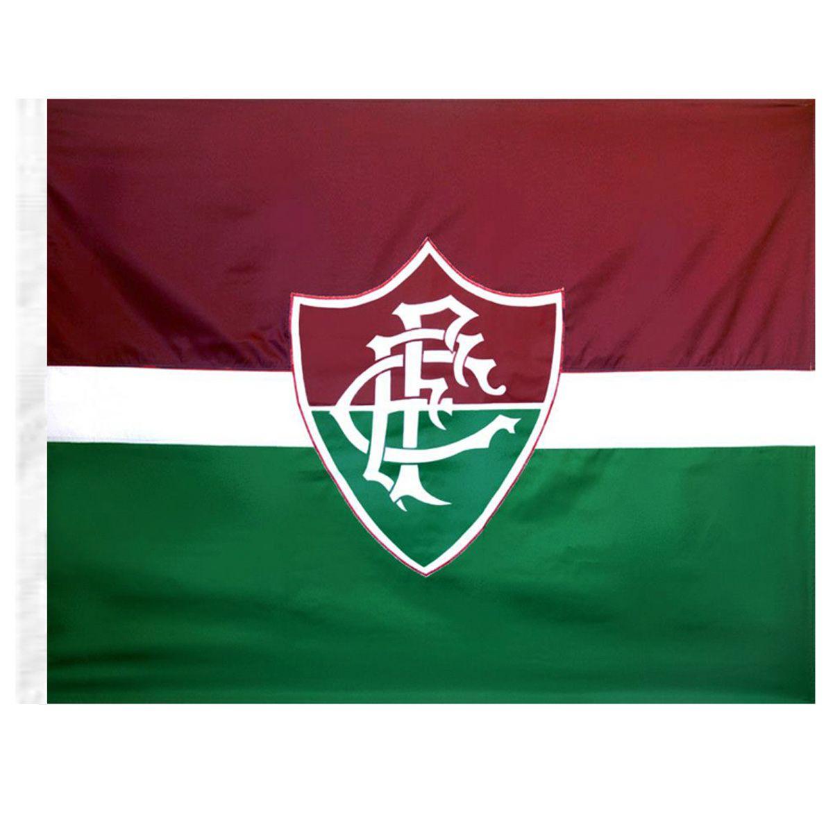 Bandeira Torcedor do Fluminense 96 x 68 cm - 1 1/2 Pano