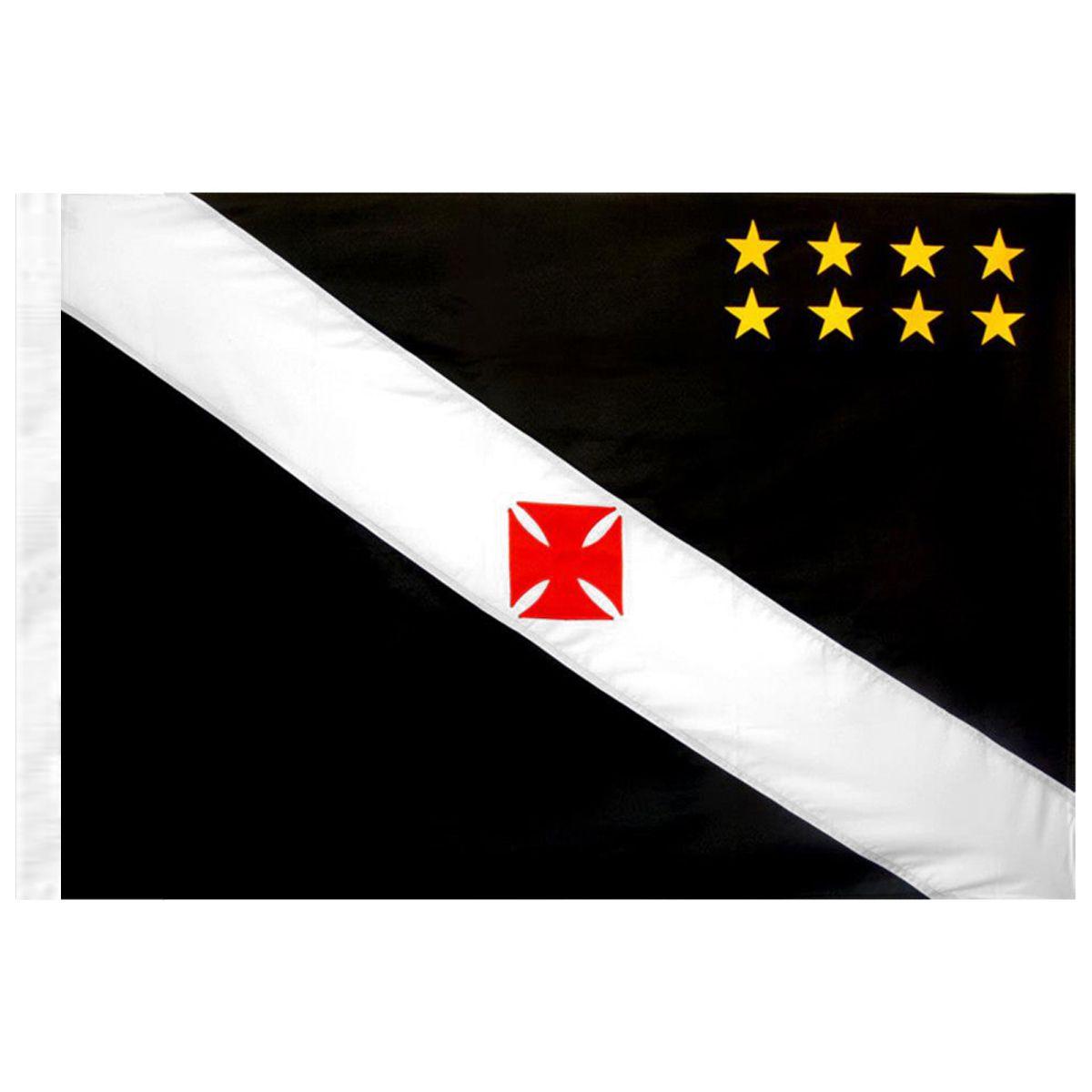 Bandeira Torcedor do Vasco da Gama 128 x 90 cm